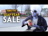 SMITE Leap Year Sale (because Chronos was drunk)
