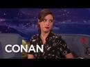 Aubrey Plaza's Airbnb Nightmare CONAN on TBS