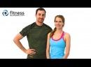 Тренировка пилатес для пресса, ягодиц и бедер - Низкоударная тренировка пилатес с Келли и Дэниелом. Pilates Abs, Butt and Thighs Workout - Low Impact Pilates Workout with Daniel and Kelli