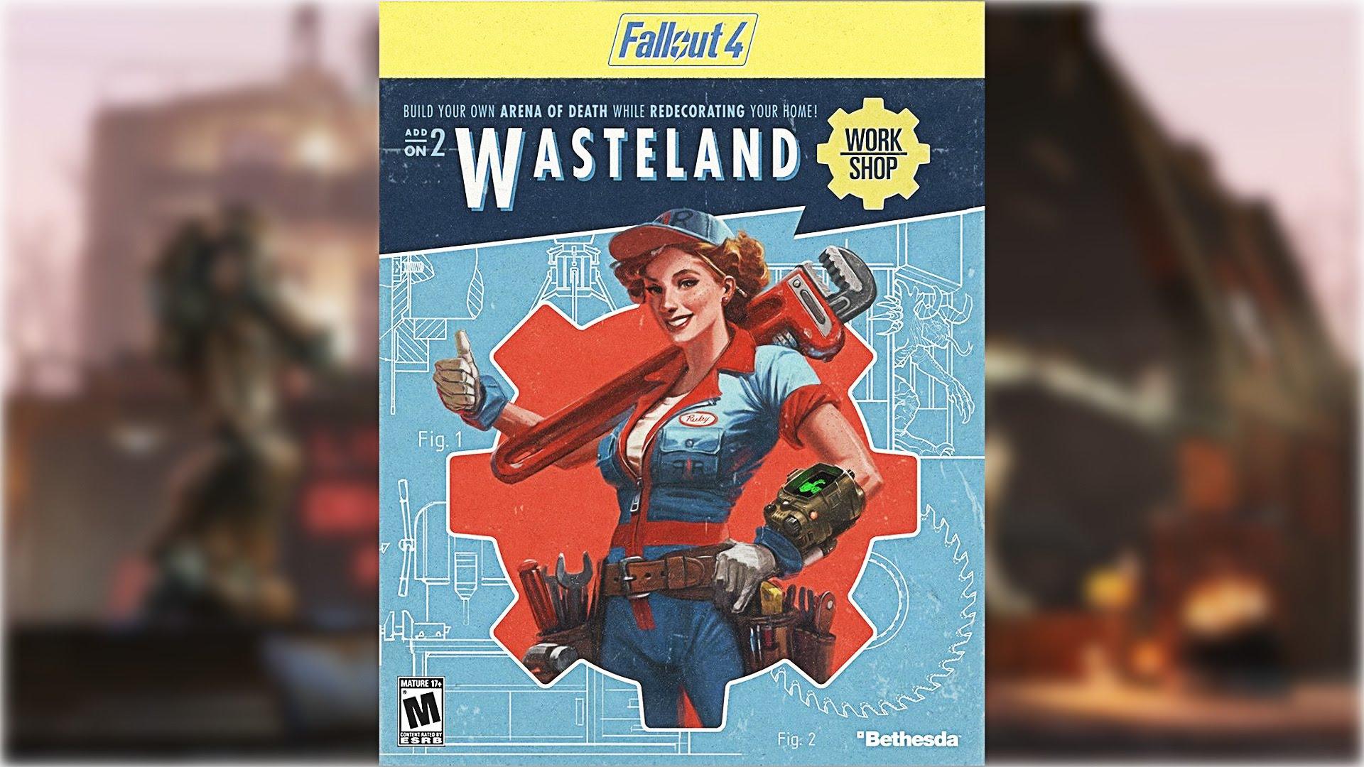 Fallout4 Wasteland Workshop  уже доступна для игры.