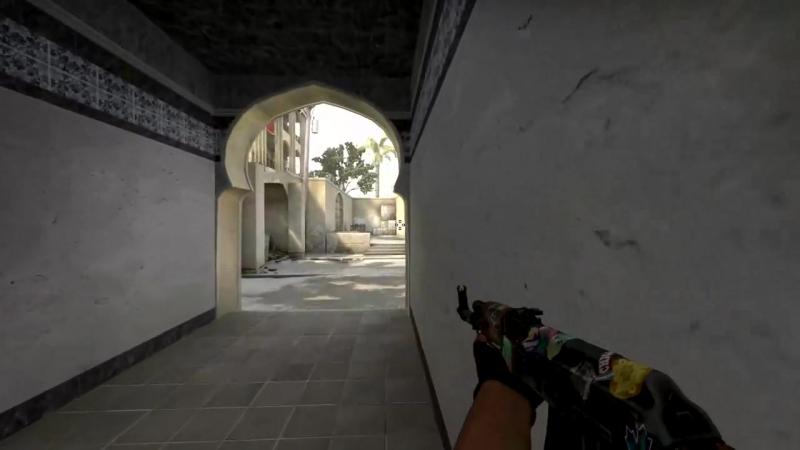 CS:GO Dust 2 Good way to rush B