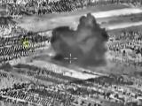 Уничтожение самолетами Су-25 цеха по производству самодельных взрывных устройств. Сирия.