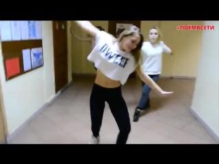 IOWA - Бьёт бит (COVER DANCE),классный танцевальный кавер,харизма,талант,девчонки отожгли под песню IOWA,школа