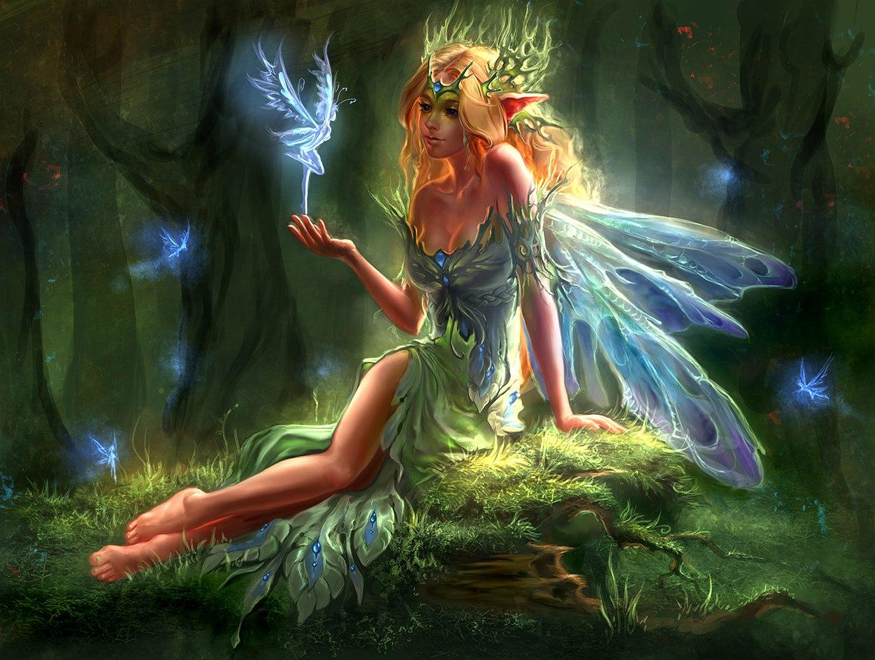 Fantasy fairy art nude images