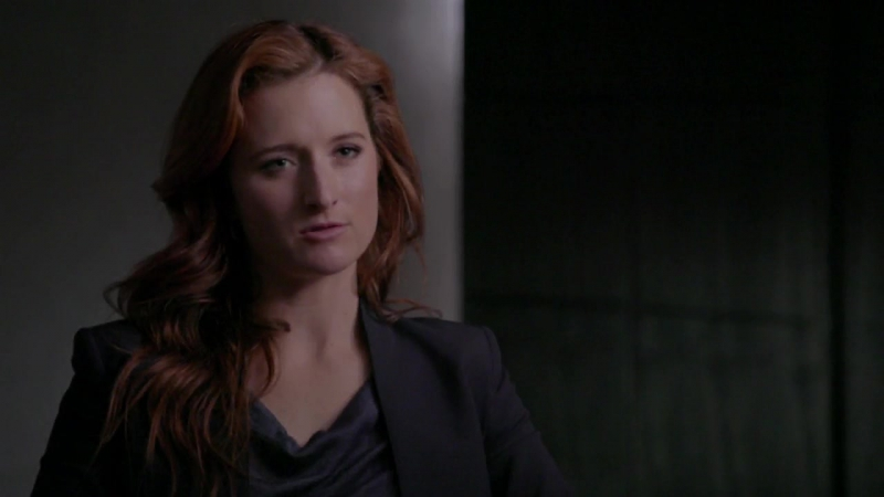 Grace Gummer as Dominique Dipierro MrRobot behind the scenes season 2 мистерробот