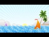 #ФУТАЖ (анимация) МОРЕ и ПАРУСНИК