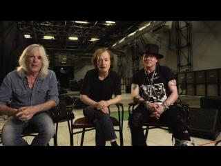 Ангус Янг, Эксл Роуз и Клифф Уильямс о предстоящем концерте AC/DC в Лиссабоне