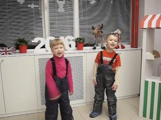 Малыши поют и танцуют. 5 лет.