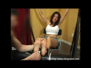 Viviana'sTicklingVideoVault - Vivianas Skirt Tickle 2 - The Feet