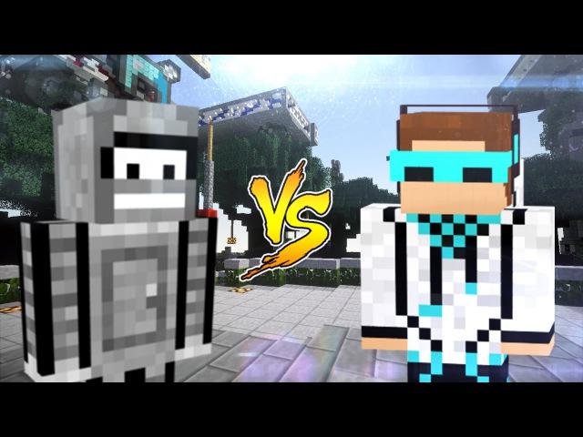 Бендер vs Лололошка. Эпичная Рэп Битва в Майнкрафте!