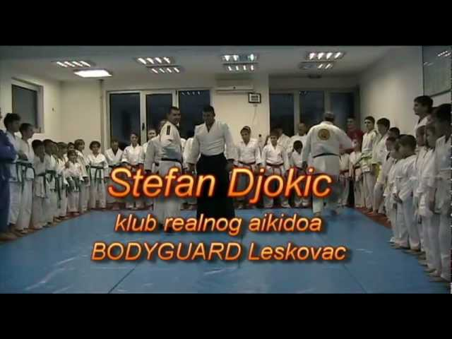 Stefan Djokic klub realnog aikidoa BODYGUARD Leskovac