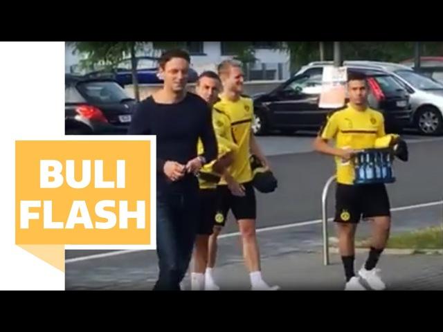 BVB Stars Götze Schürrle und Guerreiro legen los