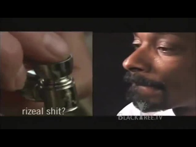 Is the weed on the snoop dogg's clips real ?