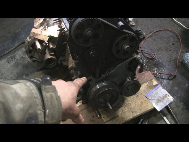1.9 turbo diesel AFN метки ремня ГРМ и проблема с натяжным роликом часть 4