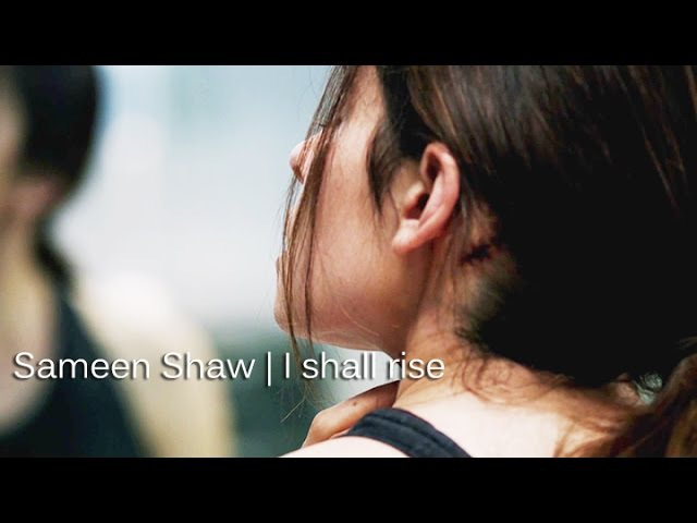Person of interest | Sameen Shaw | I shall rise