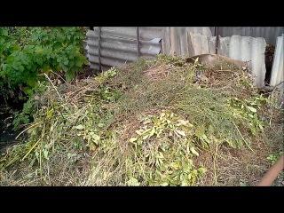 Закладка компостной кучи