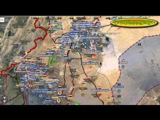 Обзор карты боевых действий в Сирии и Ираке от 12 12 2015 г