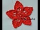 Květinka s 5 lístečky. Цветочек с 5 лепестками.