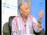 Юрий Гарин читает свои юмористические стихи на телеканале Исраэль плюс
