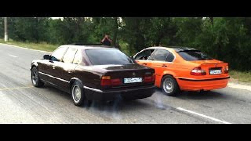 Случайно попали на гонки BMW club Taraz АВТОВЛОГ