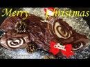 Cách làm bánh Giáng sinh khúc cây Рождественское полено рецепт Christmas Cake Yule Log Buche de Noel