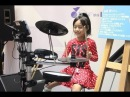 Super Incredible Girl Drummer FOOLS Crowd at Japanese Mall So Cool