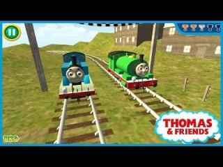 Trò chơi trẻ em - Đua tàu hỏa - game đua tàu cho bé - game for kids