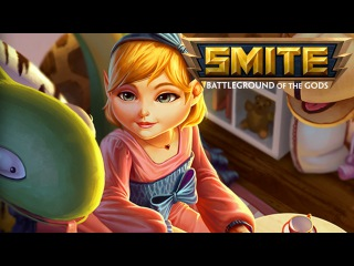 Smite - Skin Spotlights : Child's Play Scylla *Skin/Jokes/Taunts*