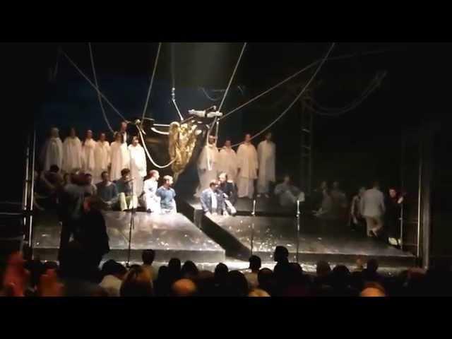(J.St)фрагмент спектакля Юнона и Авось театр Ленком 20.03.2014г