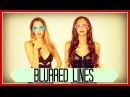 BLURRED LINES Robin Thicke ft King Bach Taryn Southern Julia Price Cover