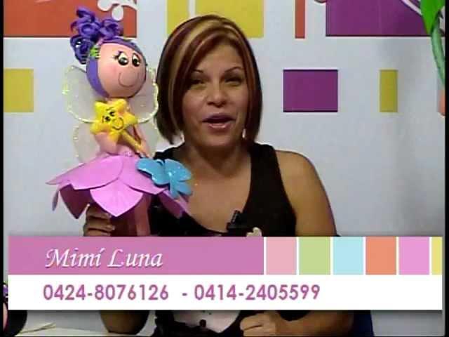DETALLES MAGICOS con MimiLuna Invitada Ysabel Gonzales FOAMY parte 1
