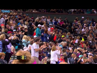 Nadal & Verdasco Hustle For Hot Shot Indian Wells 2016