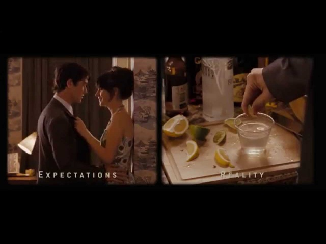 500 Days of Summer: Expectations vs Reality scene
