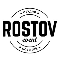 Логотип Rostov Event - Студия Событий