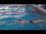 Дмитрий Хрящов, 50 м, кроль, 1 занятие
