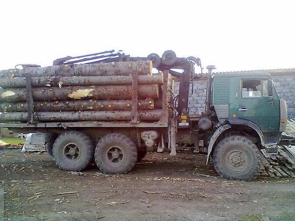 В Зеленчукском районе задержан лесовоз