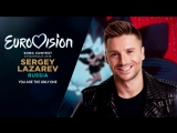 Сергей Лазарев - You Are the Only One - Евровидение 2016   Sergey Lazarev (Russia) Live Final