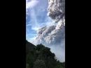 Извержение вулкана Санта-Мария (Гватемала. 28.08.2016)