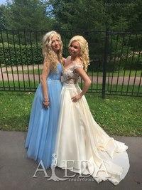 Наша 👰💍#невестаАледа #brideAleda Евгения Волкова в платье  👗 Амбер😍