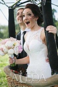 Наша восхитительная 👰💍#невестаАледа #brideAleda Настя Фомина в платье  👗 Кэссиди😍