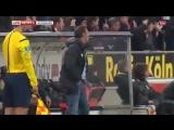 Вратарь-диверсант разрыл яму у точки перед пробитием пенальти