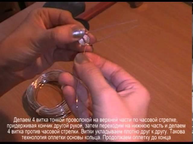 Мастер-класс по плетению кольца 2 (Нелли Спусканюк)
