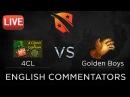 Лучшие игры Golden Boys | 4Clovers vs Golden Boys, D2CL Season 6, 4CL vs GB @bo3