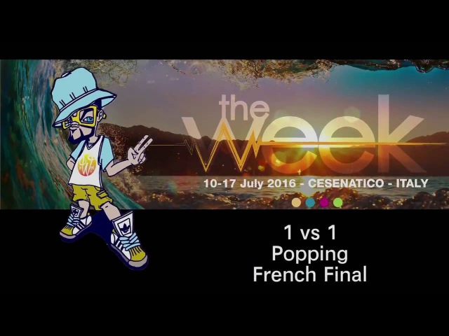 The Week 2016 French Qualifier Popping Final Iron Mike vs Jacko