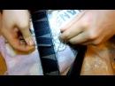 Акуратная замена ладов на электрогитаре
