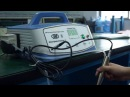 UWI E Ultrasonic wound debridement machine avi