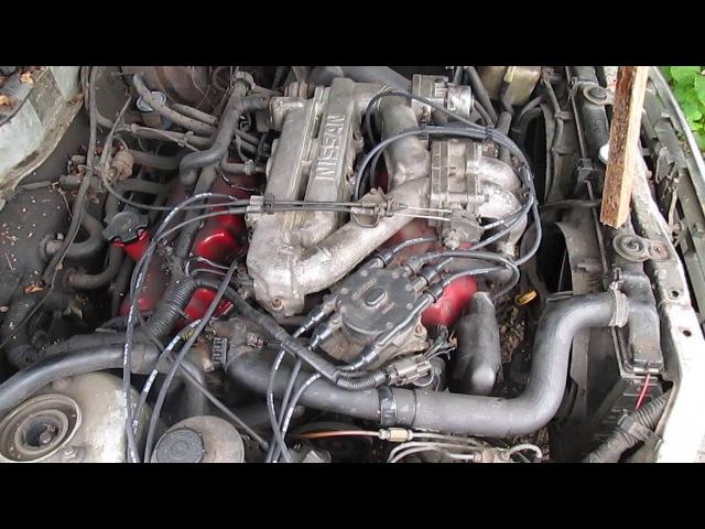 Провода от Зила на Nissan Maxima J30