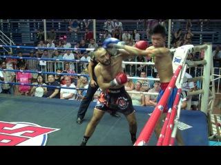Firdavs Boynazarov (Tiger Muay Thai) vs Suanoi @ Bangla Stadium 12/8/16