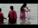 Desi Bhabhi Washing Bathing In The River With Her Friends