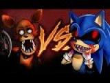 FOXY VS SONIC.EXE  EPIC BATTLE  KRONNO ZOMBER  ( Videoclip Oficial )